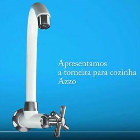 Torneira da Azzo animada em render 3D pelo Studio 25
