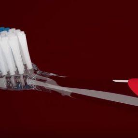 Vinhea animada da escova dental Condor, produzida pelo Studio 25