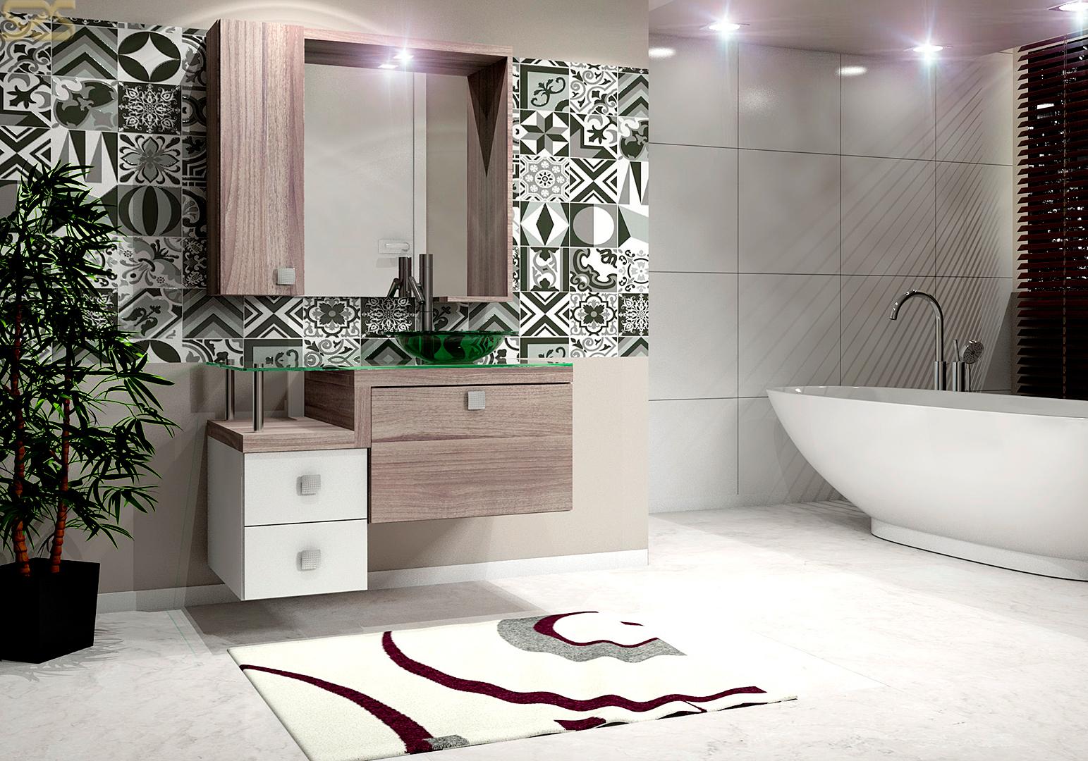 Banheiros  Categorias Portfolios  Imagens Publicitárias – Studio 25 -> Armario De Banheiro Celta