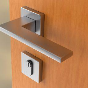 Detalhe da fechadura de porta da Kits Aero em imagem produzida pelo Studio 25