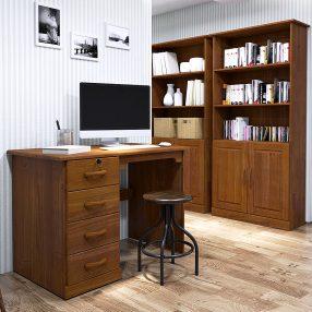 Escrivaninha da nova linha Office da Finestra móveis em imagem produzida pelo Studio 25
