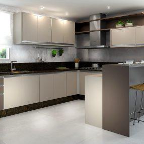 Cozinha Compacta da Celmobile em imagem produzida pelo Studio 25