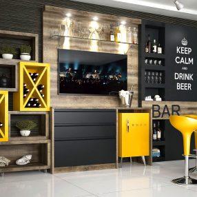 Bar da Nova Soluções em imagem publicitária produzida pelo Studio 25
