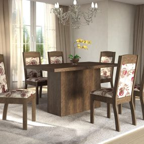Base Adar e Cadeiras Valência da Sonetto Móveis em imagem produzida pelo Studio 25