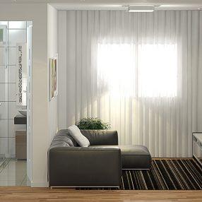 Imagem conceitual de empreendimento arquitetônico em Curitiba PR em imagem desenvolvida pelo Studio 25