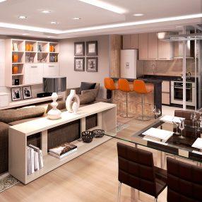 Empreendimento arquitetônico de alto padrão em imagem criada em render 3D pelo Studio 25