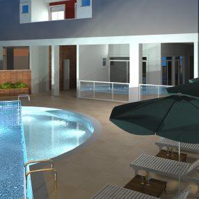 Empreendimento arquitetônico alto padrão em imagem 3D de alto realismo desenvolvida pelo Studio 25