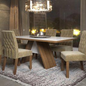 Sala de Jantar da Madesa em imagem produzida em render 3d pelo Studio 25